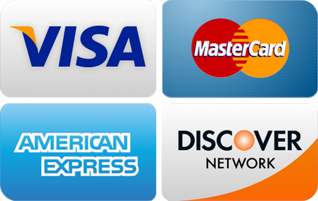 We are now accepting Major Credit Cards <br/> We Also Provide Financing!
